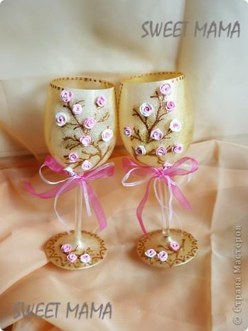 Мои свадебные бокальчики. фото 12