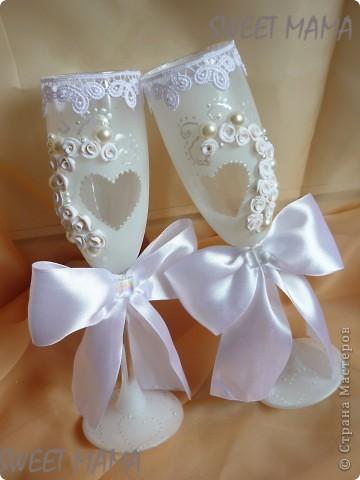 Мои свадебные бокальчики. фото 10