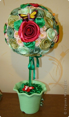 Дерево из роз фото 3