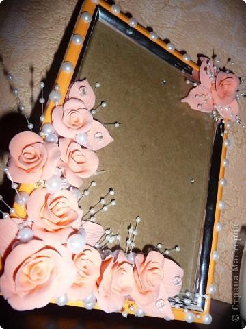 Персиковая рамка... фото 2