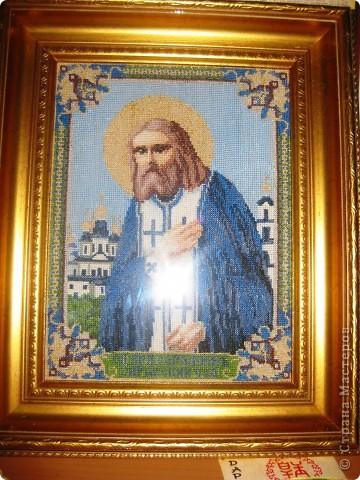 Икона Серафима Саровского фото 1