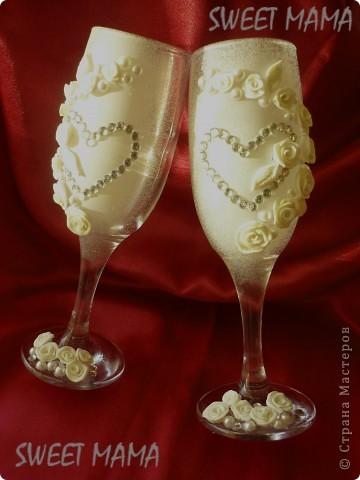 Мои свадебные бокальчики. фото 1