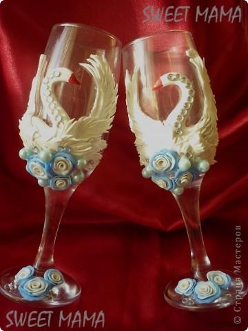 Мои свадебные бокальчики. фото 3