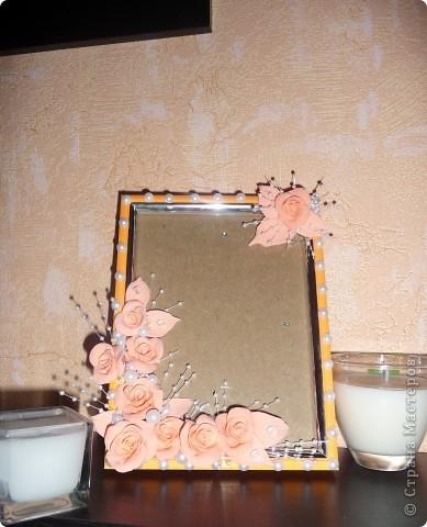 Персиковая рамка... фото 3