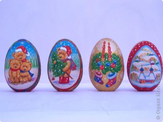 Роспись акриловыми красками на липовых яйцах фото 2