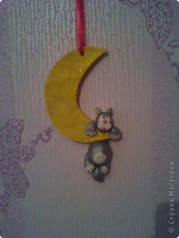 Котик на луне. Повторюшечка фото 1