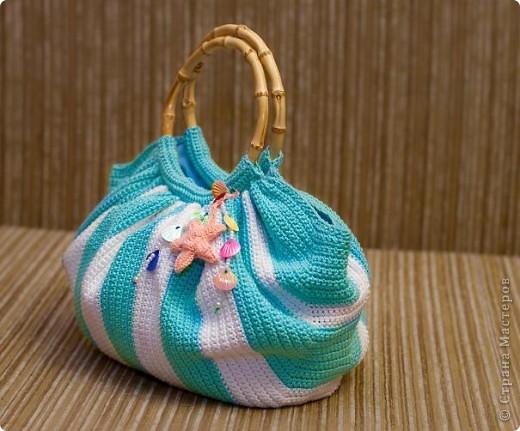 Тучный мешок в морском стиле фото 1