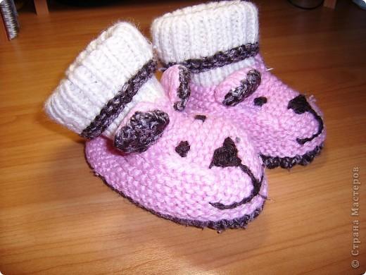 Довязала доче вот такие рукавички-ежики. фото 4