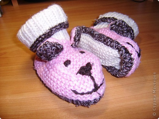 Довязала доче вот такие рукавички-ежики. фото 5