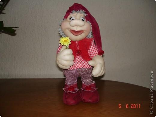 Решила сшить на День рождения племяннице куклу. Попробовала первый раз на каркасе. Вот что получилось. фото 1