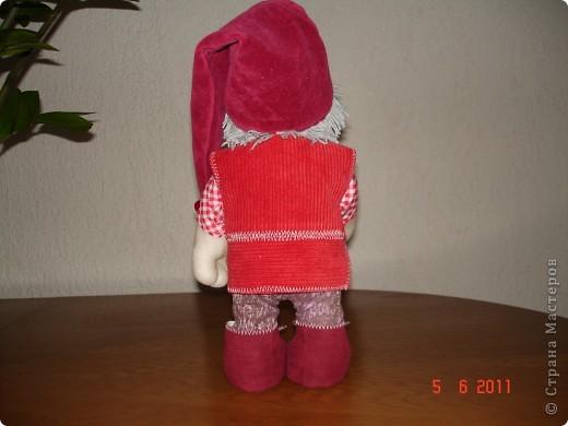 Решила сшить на День рождения племяннице куклу. Попробовала первый раз на каркасе. Вот что получилось. фото 3