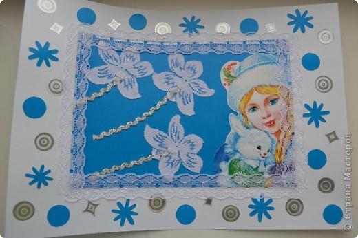 Портрет прекрасной Снегурочки. фото 1