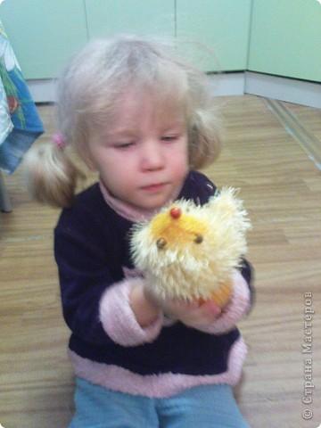 Довязала доче вот такие рукавички-ежики. фото 3