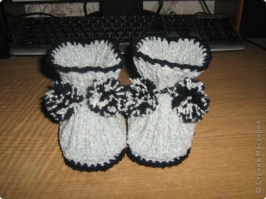 И носочки и пинетки фото 3