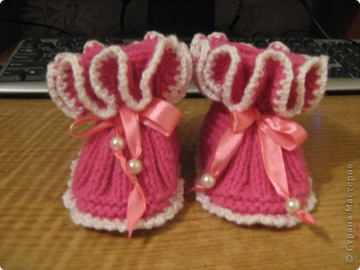 И носочки и пинетки фото 6