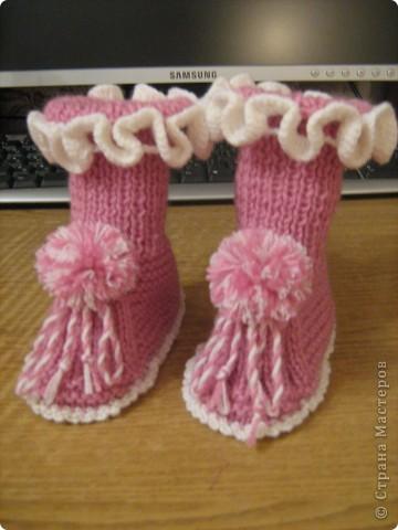 И носочки и пинетки фото 8