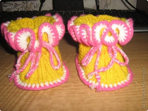 И носочки и пинетки фото 9