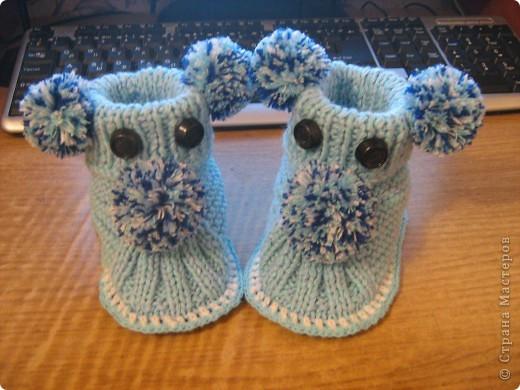 И носочки и пинетки фото 10