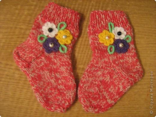 И носочки и пинетки фото 1