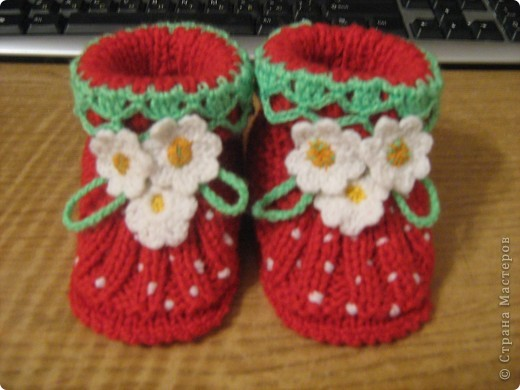 И носочки и пинетки фото 13