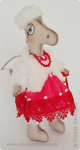 ПРИВЕТ ВСЕМ!!! Я сегодня к вам с дракошками!!! Очень понравилось их шить!!! Очень хочется с вами поделиться...Теперь чувствуется приближение Нового года и запахло мандаринами!!!  :-))) фото 4