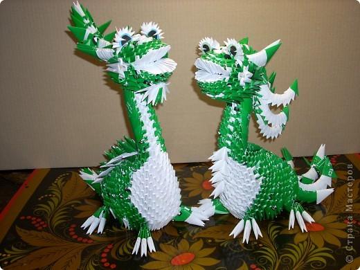 В моем драконьем стаде пополнение. Это дракончики из семейства динозавриков. Они получились настолько разными, что получили имена. фото 3
