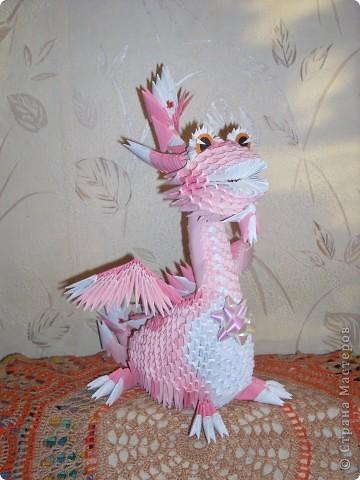 В моем драконьем стаде пополнение. Это дракончики из семейства динозавриков. Они получились настолько разными, что получили имена. фото 6