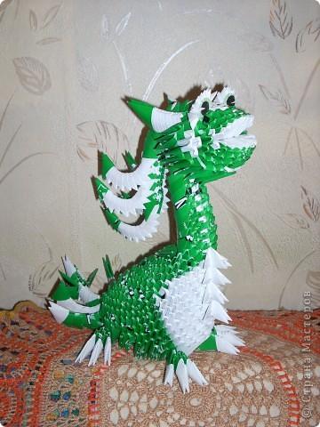 В моем драконьем стаде пополнение. Это дракончики из семейства динозавриков. Они получились настолько разными, что получили имена. фото 7