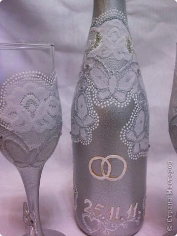 Первый раз делала на заказ,заказали в серебре и с кружевом. Спасибо Екатерине Коробчук, идея декора была утащенна у неё.))) фото 2
