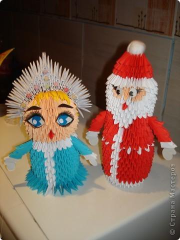 Дед Мороз и Снегурочка (МК) Новому году фото 22