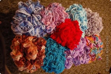 И снова шарфики..... много шарфиков.... фото 1