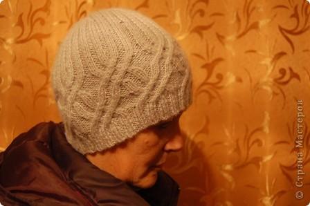 Серая шапочка для любимого.... фото 2