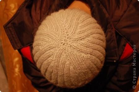 Серая шапочка для любимого.... фото 3