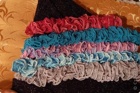 И снова шарфики..... много шарфиков.... фото 3