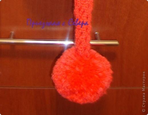Вот такие шарфики навязались у меня в подарок к Новому году.  Пряжа из Троицка, Подмосковная, 50 % шерсть, 50 % акрил. Крючок 1,90  фото 17