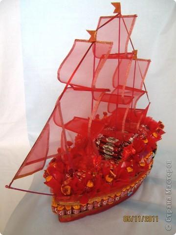 Первый мой цветочный корабль. фото 5