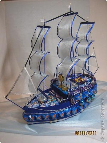 Первый мой цветочный корабль. фото 6