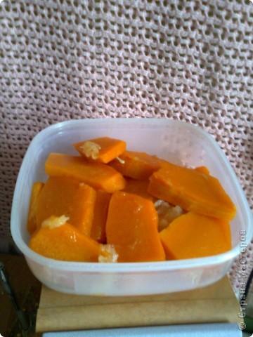 Десерт из тыквы для гурманов фото 4