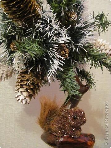 Зимнее дерево + кофейное( повторюшка) фото 3