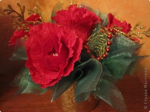 Новогодний сладкий букетик фото 2