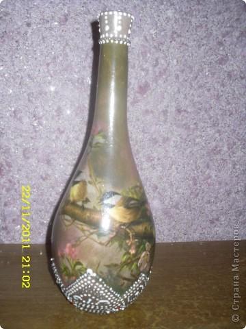 Долго стояли мои бутылочки в уголке , наконец то дождались ! фото 3
