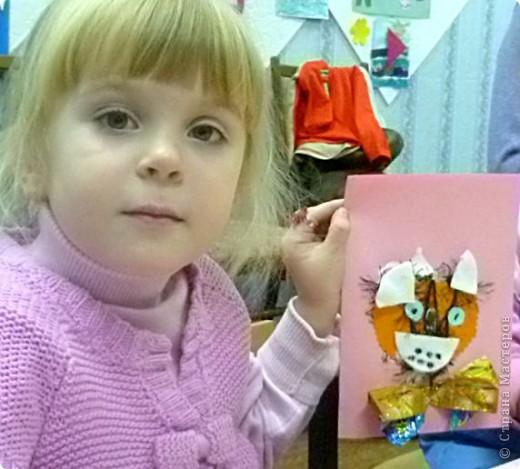 Спасибо Елене Copilka за идею с котиками. Вот что у нас получилось. Мы смотрели мультик «Вот так тигр» и очень захотелось сделать котенка, который хотел быть тигром… фото 4