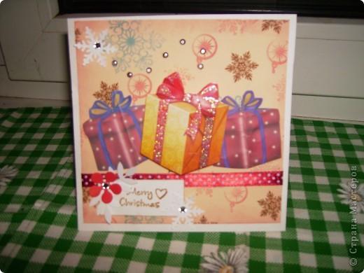 Мои следующие новогодние открытки. фото 2