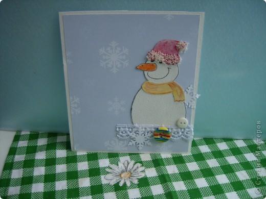 Мои следующие новогодние открытки. фото 4