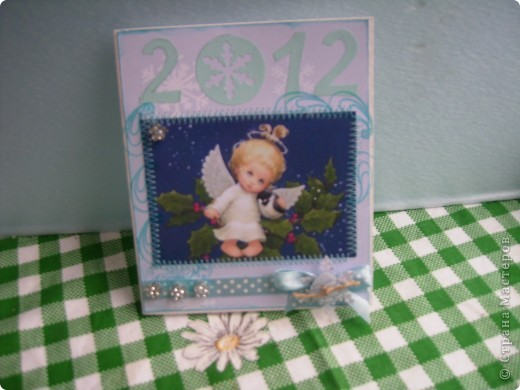 Мои следующие новогодние открытки. фото 6