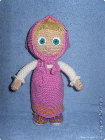 Игрушка Вязание крючком Маша