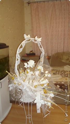 """Букет из конфет """"Свадебный"""" фото 1"""