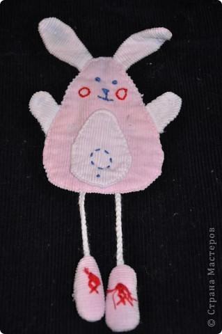 Аппликация из ткани, дочке на сарафанчик. фото 1