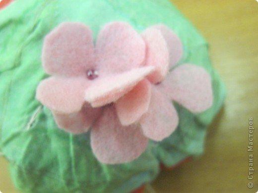 Вот шарка цветка гортензии готова.  11.
