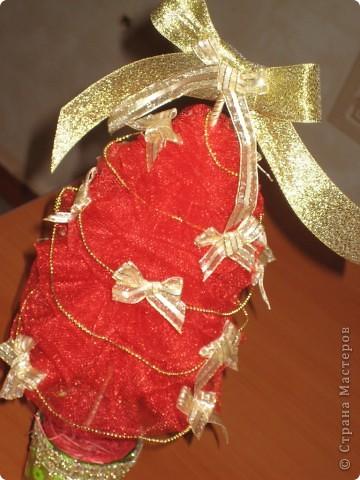 Вот такая красно-золотая красавица у меня получилась! фото 2